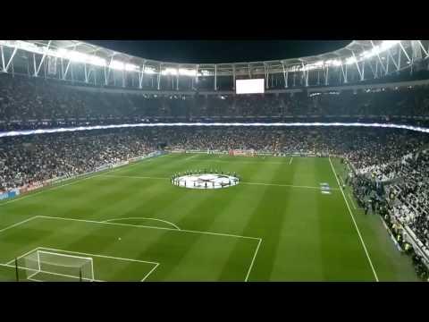 Vodafone Arena'da İlk Şampiyonlar Ligi Seremonisi 28 Eylül 2016 Beşiktaş-Dinamo Kiev