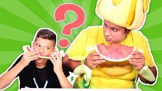 فوزي موزي وتوتي - عفو والبطيخة - Afu and the watermelon