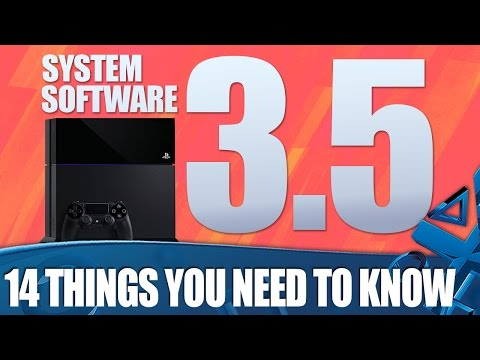 PS4 Update 3.5 - 14 Things You Need To Know