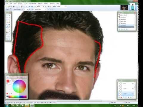 Paint Net Makeover Scott Adkins To Yuri Boyka Youtube