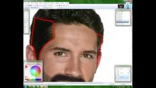 Paint.NET makeover: Scott Adkins to Yuri Boyka