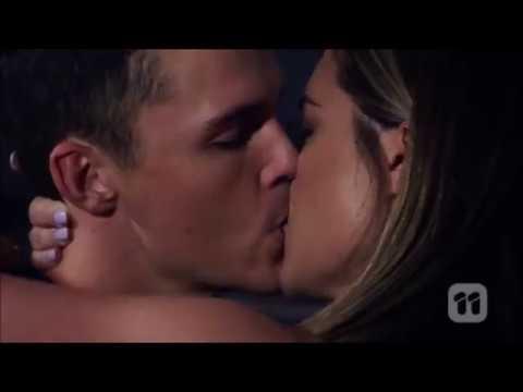 Paige and Jack kiss and sleep together  7777