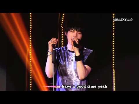 JYJ - Be My Girl LIVE [with lyrics]