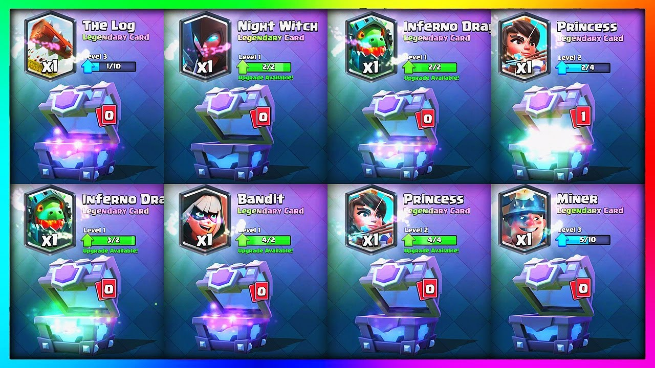 BIGGEST Clash Royale CHEST OPENING EVER! (53,000 GEMS)