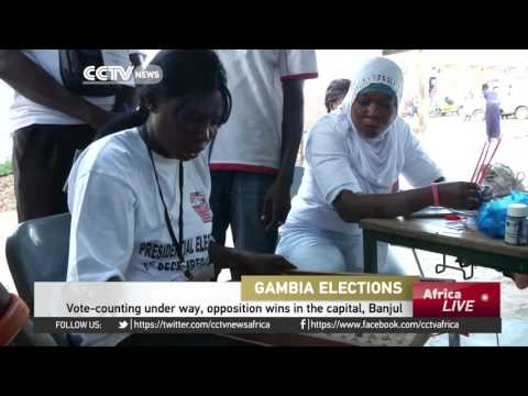 Vote-counting under way in Gambia, opposition wins in the capital, Banjul