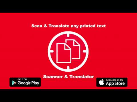 Scan & Translate - Image Scanner And Translator