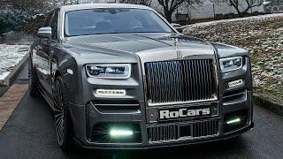 2021 Rolls-Royce Phantom by MANSORY - New Royal Sedan in detail