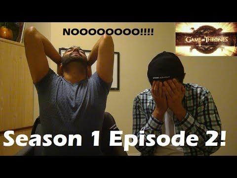Game Of Thrones Season 1 Episode 2 REACTION!!