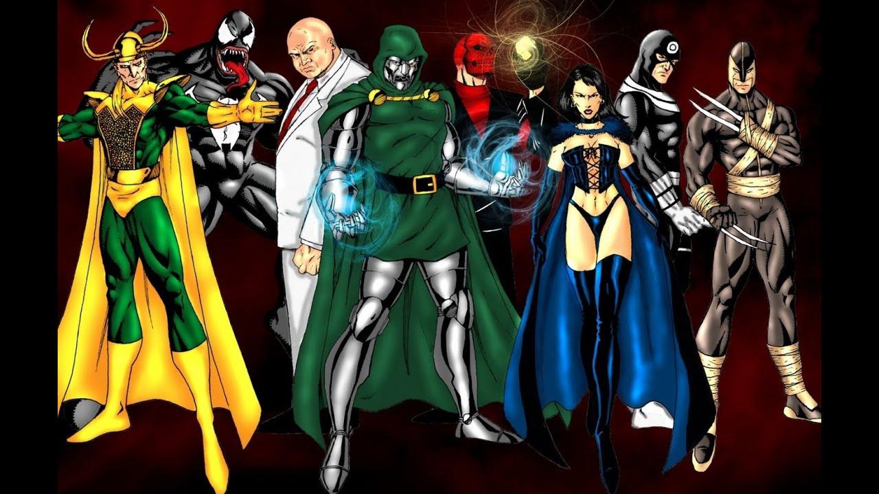 Marvel villain gather to discuss their ridiculous costumes & Marvel villain gather to discuss their ridiculous costumes - YouTube