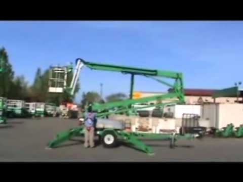 Genie TZ50/30 Towable Boom Lift