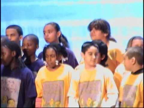 PS22 Chorus at Debi Rose Inauguration 1-10-09