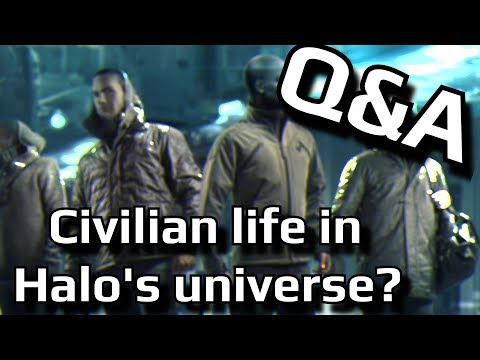 Should 343 flesh out civilian life more in Halo's Universe?   Q&A
