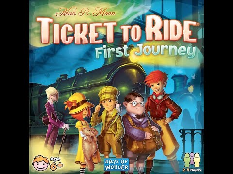 Game Spotlight: Ticket to Ride First Journey |