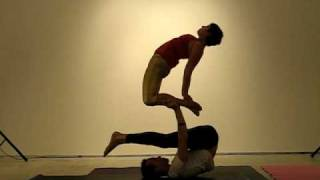 acroyoga demo for africa yoga project