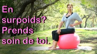 Abdos assis sur swissball ( gym