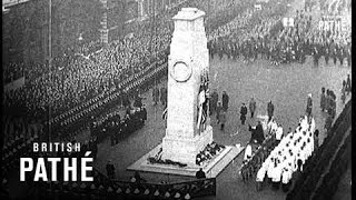 Armistice Day At The Cenotaph (1937)