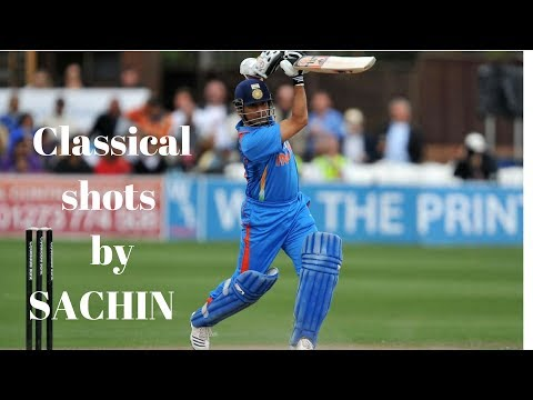 Definition of Class shots by sachin !!Straight drives, Cover drives