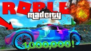 DUURSTE AUTO VAN $1.000.000 GEKOCHT !! | Roblox Mad City #2