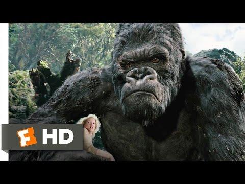 King Kong (3/10) Movie CLIP - Kong Battles the T-Rexes (2005) HD - Ruslar.Biz