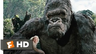 King Kong (3/10) Movie CLIP - Kong Battles the T-Rexes (2005) HD thumbnail