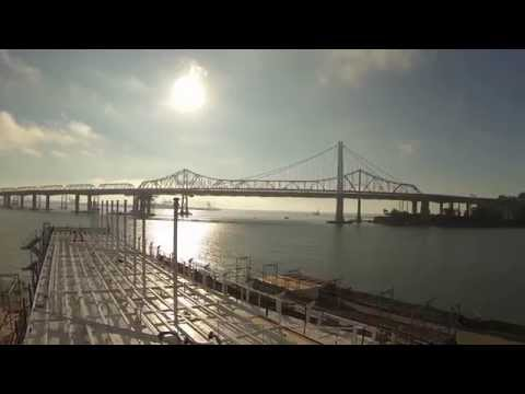 New home Google barge up close - The Unseen footage!!!/Google Glass/Project/Data Center