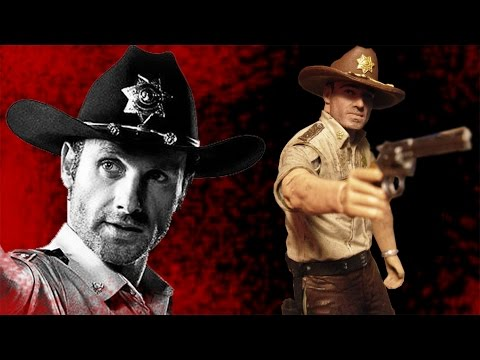 The Walking Dead Rick Grimes Series 7 Action Figure Review