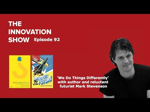 EP 92 - We Do Things Differently with author Mark Stevenson