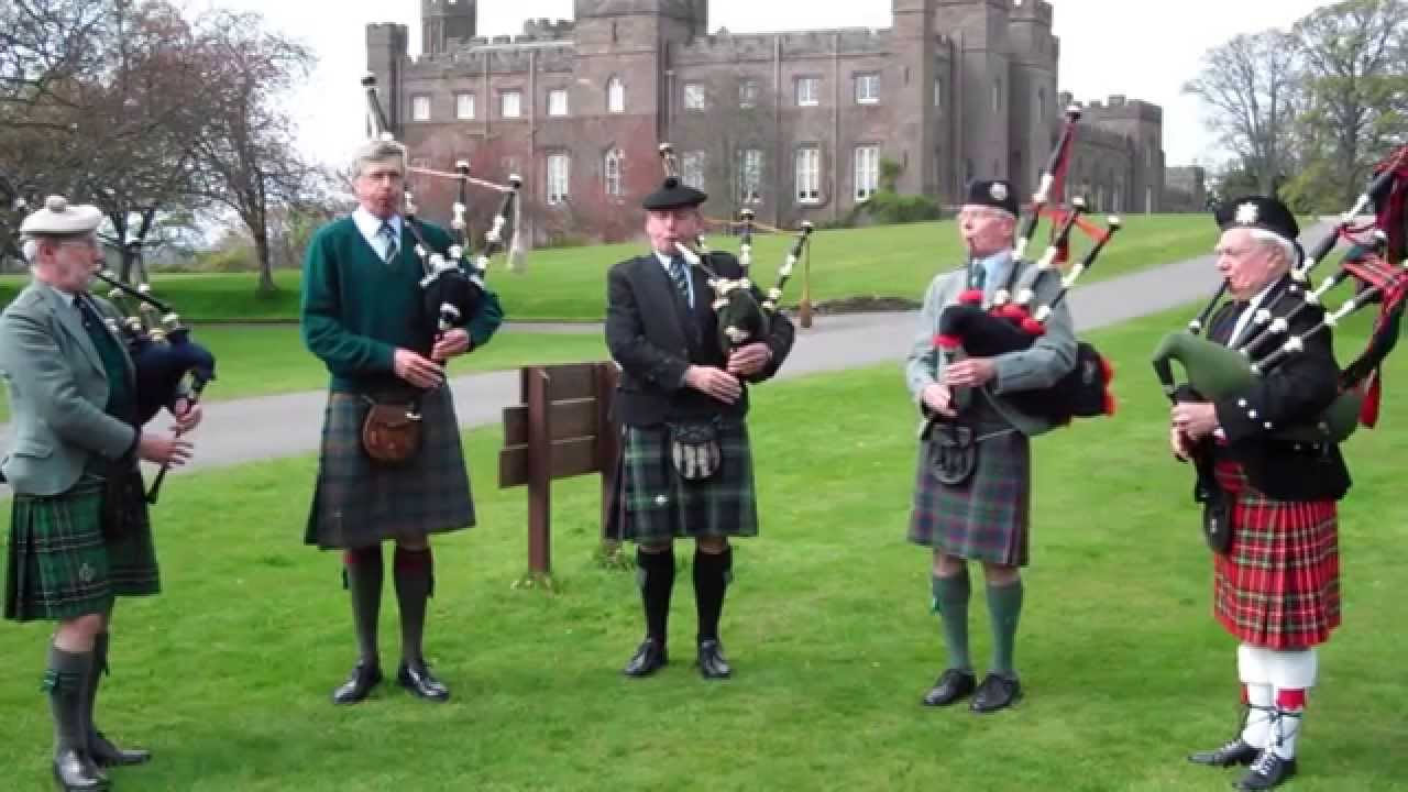 Bagpipes are at the forefront of Scottish music history