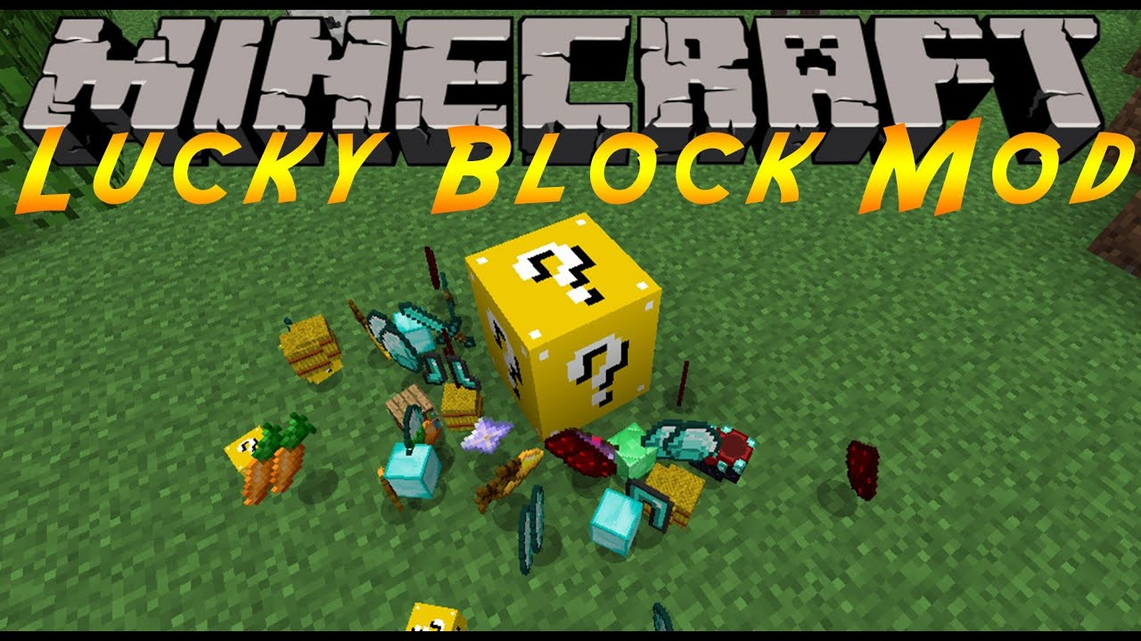 Lucky Box addon for Minecraft 0.16.2 - FMCPE