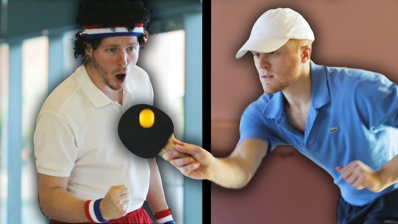 Wimblepong: A Game of Table Tennis