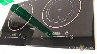 [KingHome.vn] Giới thiệu Bếp Điện Từ Đôi Sanaky SNK-IHW40A