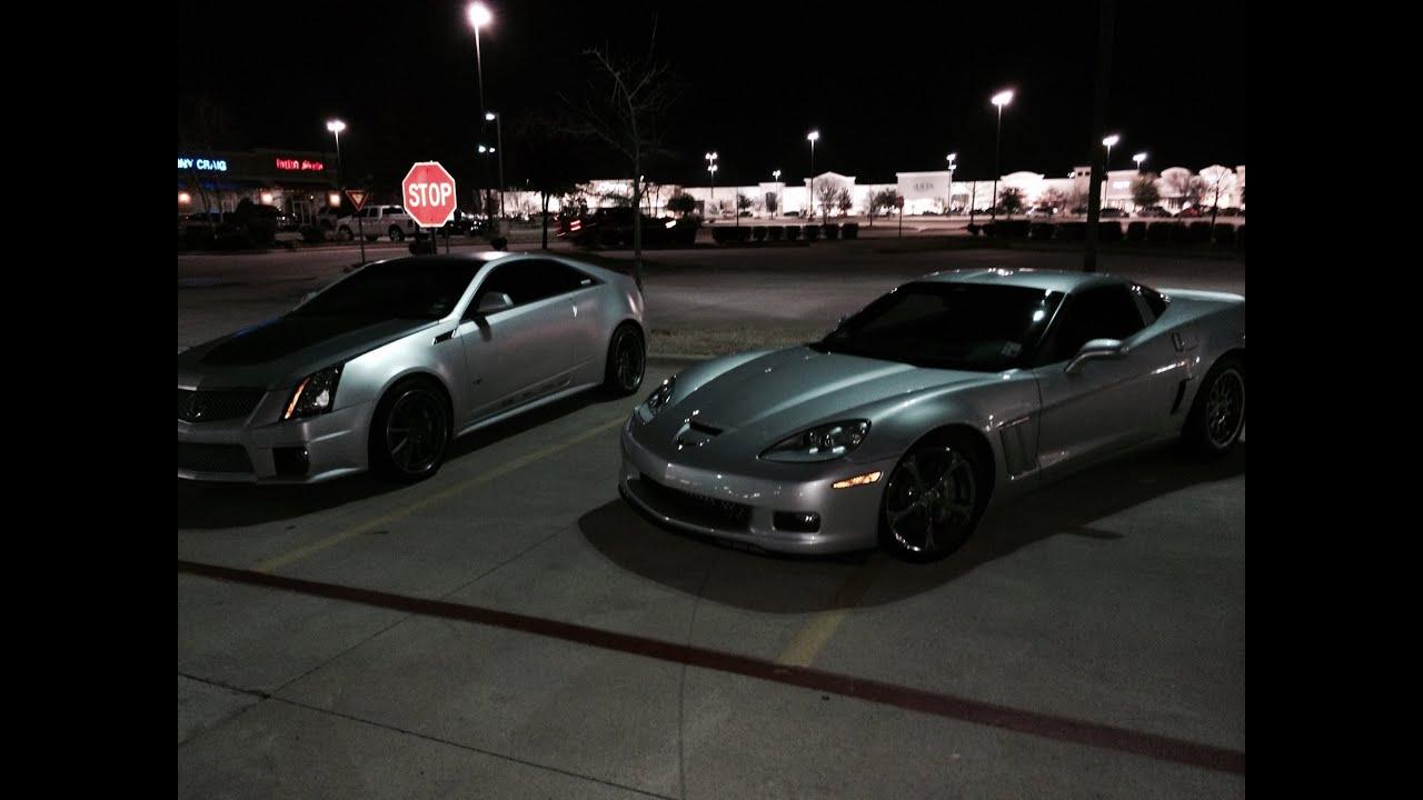 700rwph 2017 Cts V Vs 688rwhp 2010 Corvette