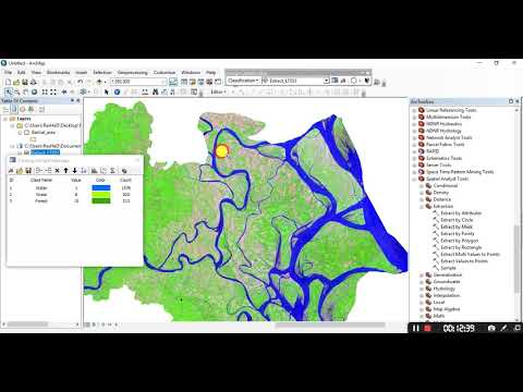 Land cover mapping by ArcGIS (Bangla)