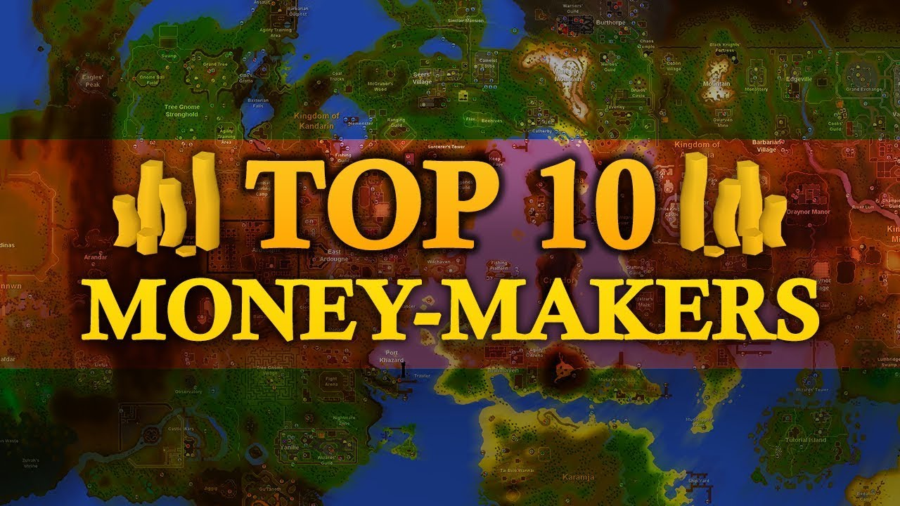 Top 10 Money Makers in Oldschool Runescape (up to 6M gp/hr)