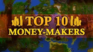 Top 10 Money Makers in Oldschool Runescape (up to 6M gp/hr)