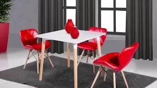 видео Столы и стулья в сканлинавском стиле