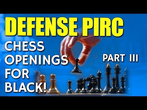 The Pirc Defence: Chess Openings For Black [Part 3/3] 🎱 by GM  Lemos