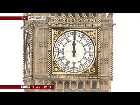 The Final Big Ben Bongs – 12pm,  Monday 21st August 2017