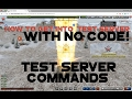 Tanki Test Server Commands + How to get into the test server with no code!
