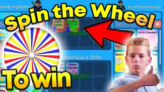 Spin The Wheel and Win This Pet in Roblox Bubble Gum Simulator
