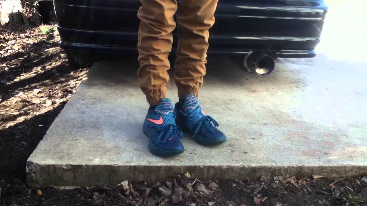 Nike KD 4 Year Of The Dragon On Feet - YouTubeKd 4 On Feet