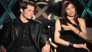 X-Men: James Marsden & Famke Janssen Interviews