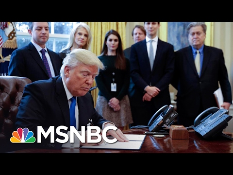 The Rocky Roll Out Of The Executive Order | Morning Joe | MSNBC