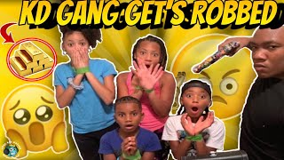 KD & Da Gang Gets Robbed For Gold Then Escapes The Robber! (Skit)