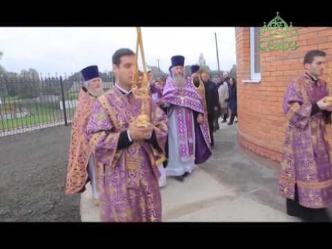 В селе Лемешовка Брянской области освящена церковь в честь святого Александра Невского