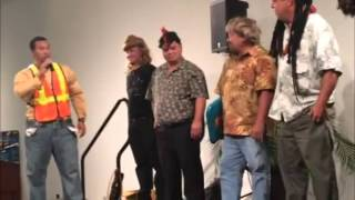 Norpac Xmas Party Part 3 featuring comedian Kaleo Pilanca Hawaii (Nov 2015)