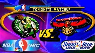 NBA Showtime: NBA on NBC PlayStation Gameplay - Atlanta Hawks @ Boston Celtics