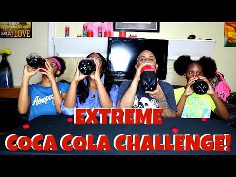 EXTREME COCA COLA CHALLENGE! FAMILY EDITION! ⚠⚠⚠