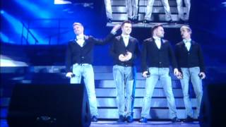 Westlife farewell tour at Croke Park Dublin June 2012 THE LAST SONG