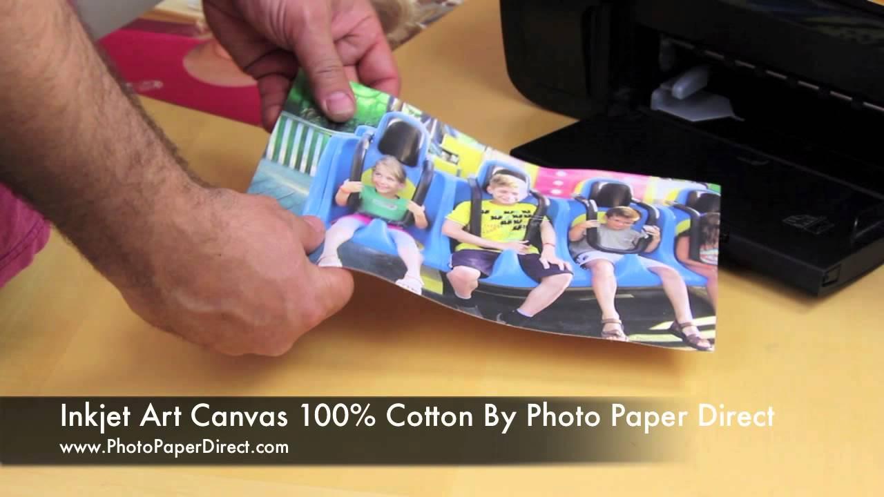 inkjet art canvas 100
